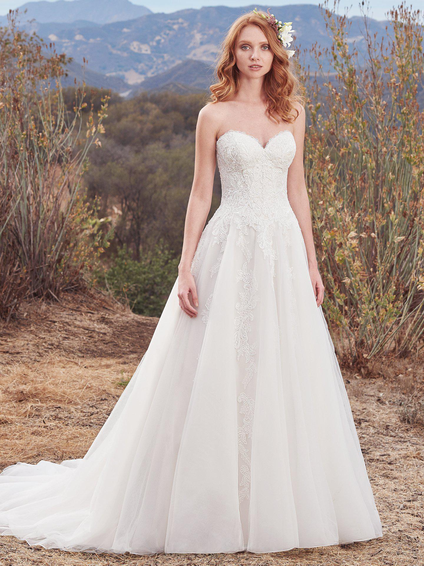 2018. Maggie Sottero - LORELAI, Ivory/overPearl:38