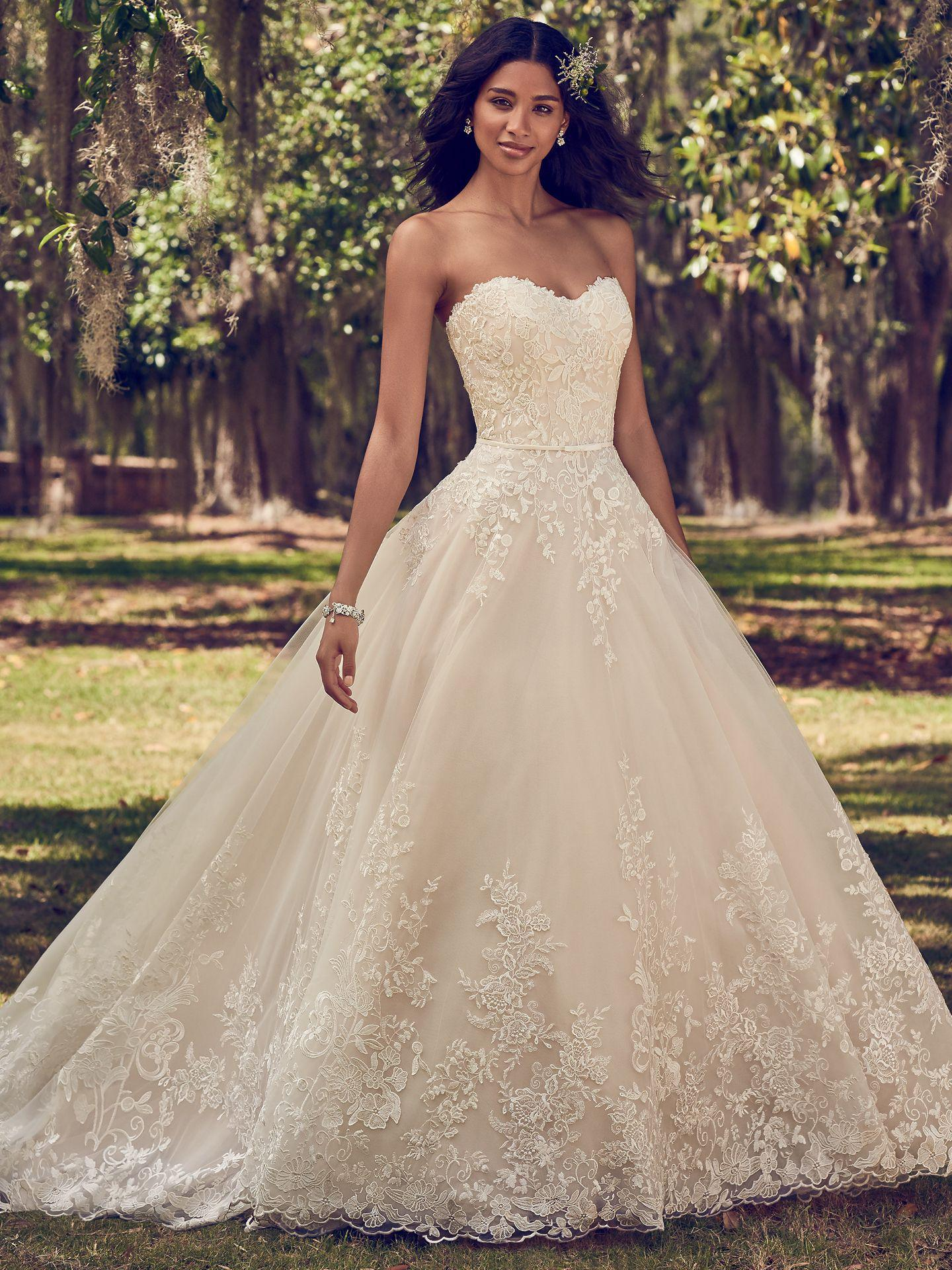 2019/18. Maggie Sottero - VIOLA, All Ivory, PlusSize:44