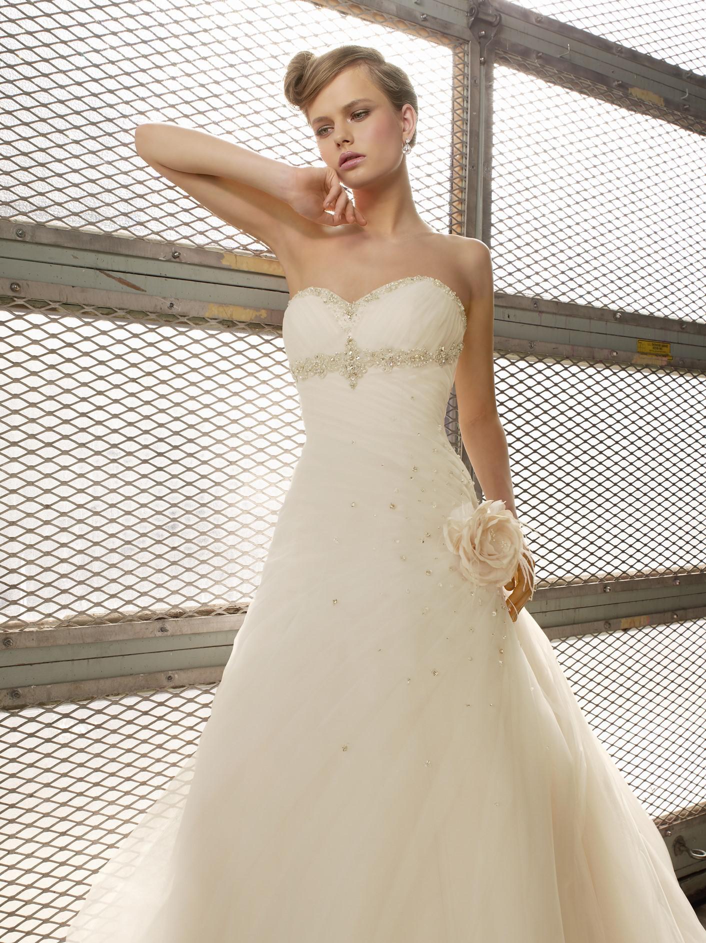 Madeline Gardner - Eleanor/35012, Ivory, Size:40