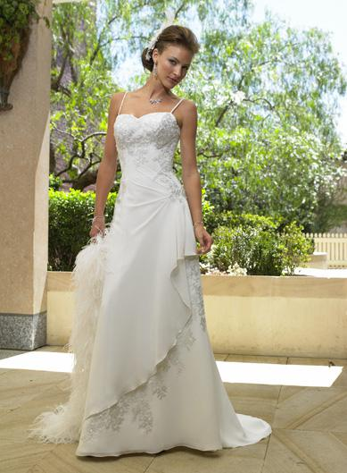 Maggie Sottero - Belize, Diamond White:36/38