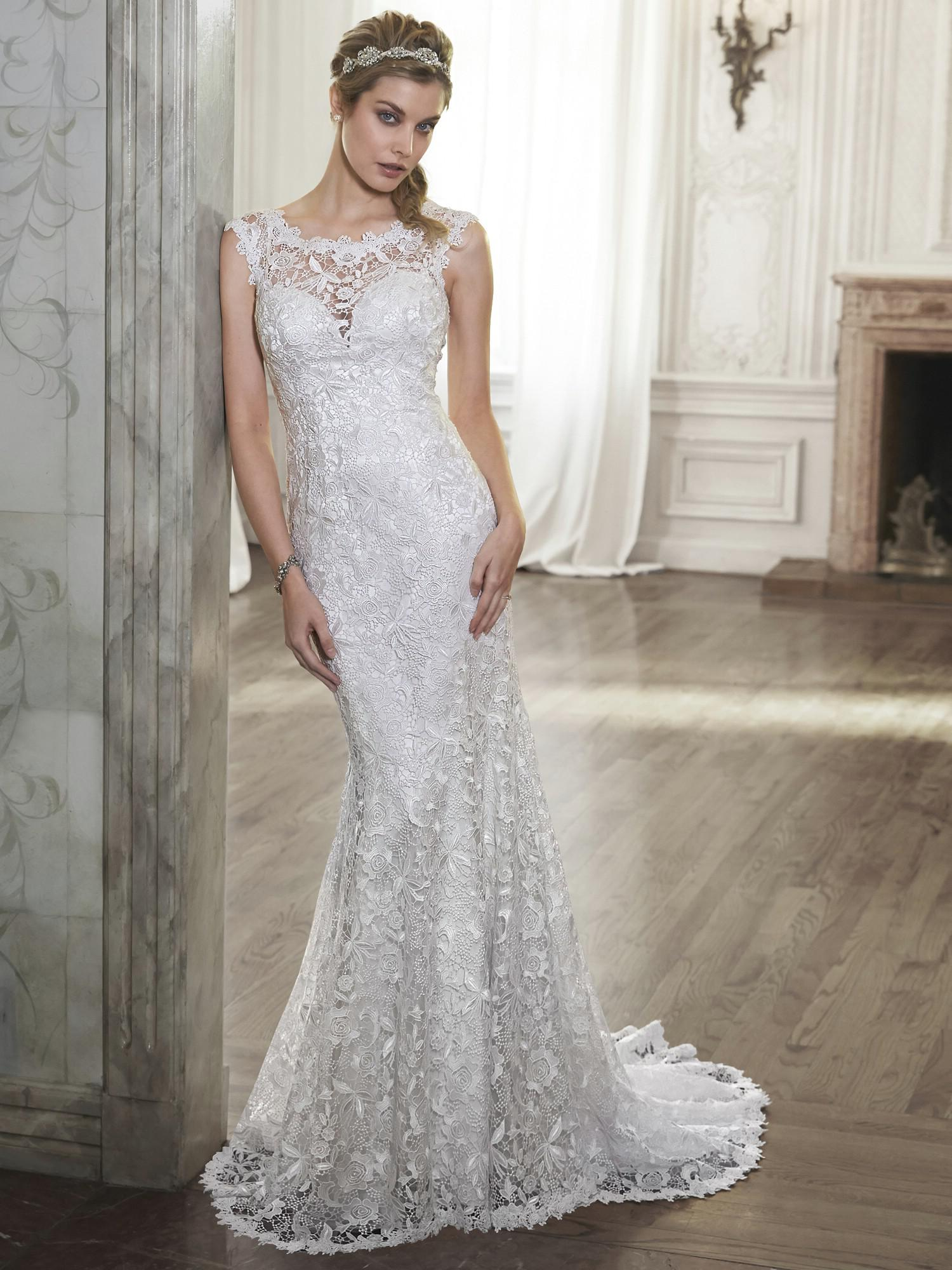 Maggie Sottero - ELLIS, Diamond White: 34