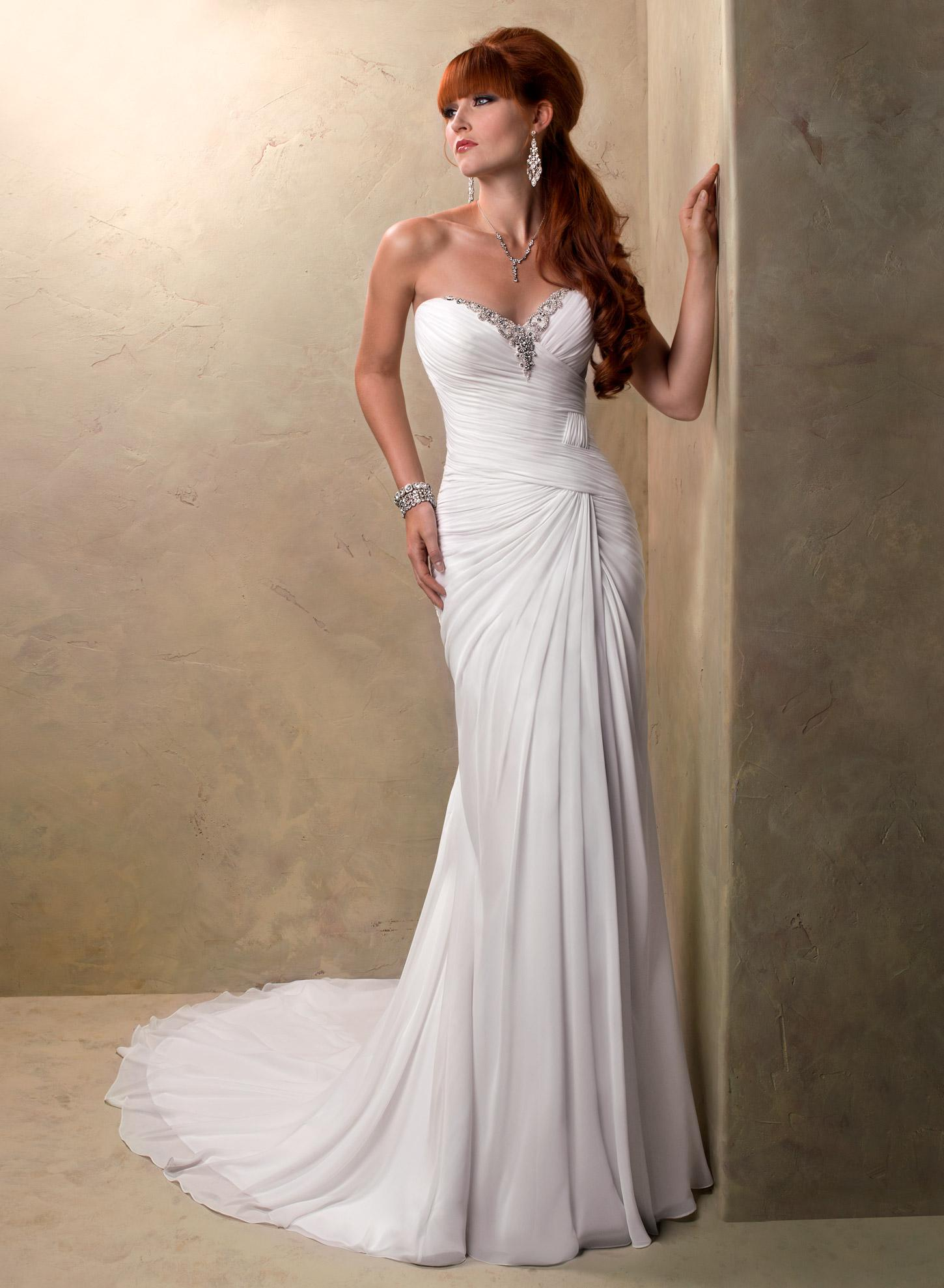 Maggie Sottero - Jacee, White:36/38