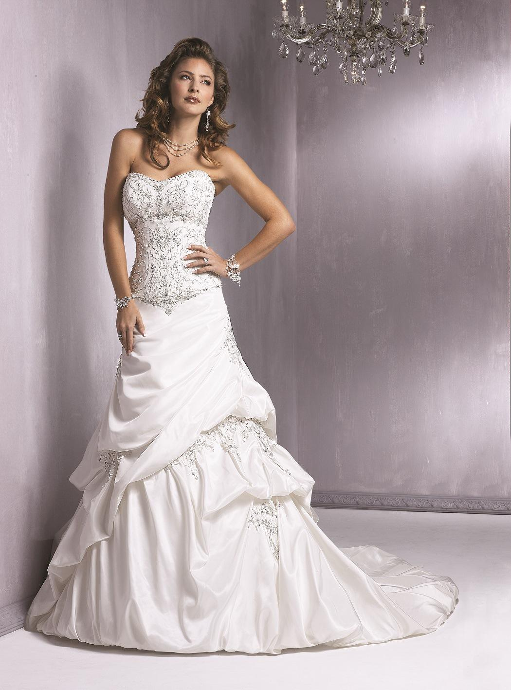 Maggie Sottero - Roma, Diamond White:40