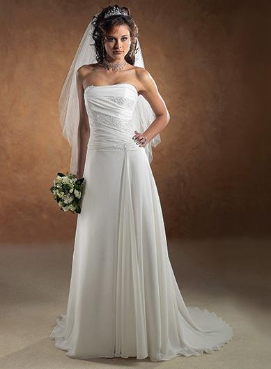 Maggie Sottero - First Tayla, White:38