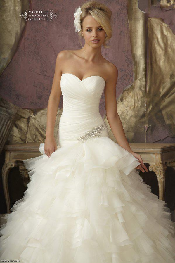 Mori Lee - 1856, White:36,42, Ivory:36
