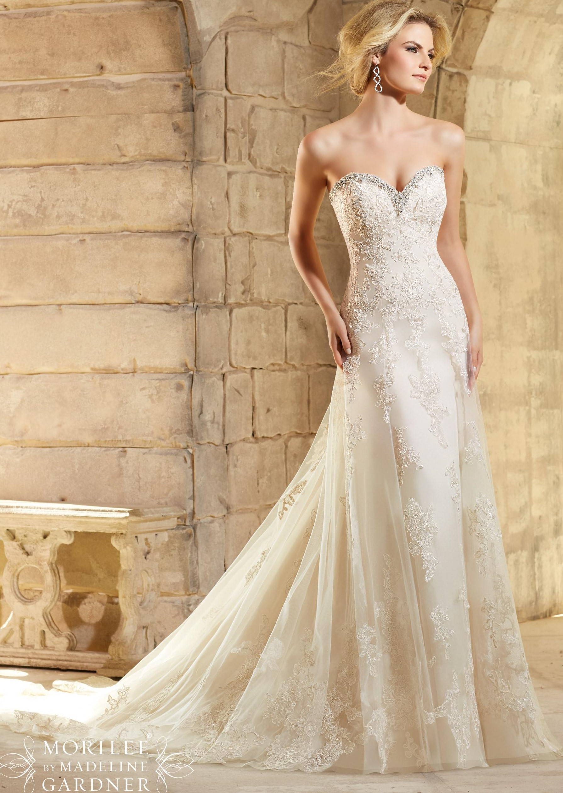 Mori Lee - 2774, L.Gold/Silver: 40