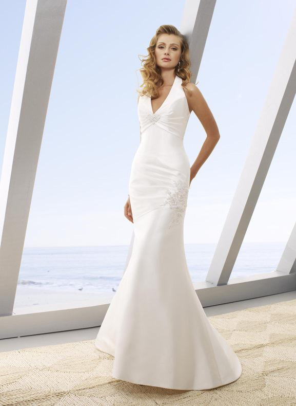 Mori Lee - 6208, White: 36