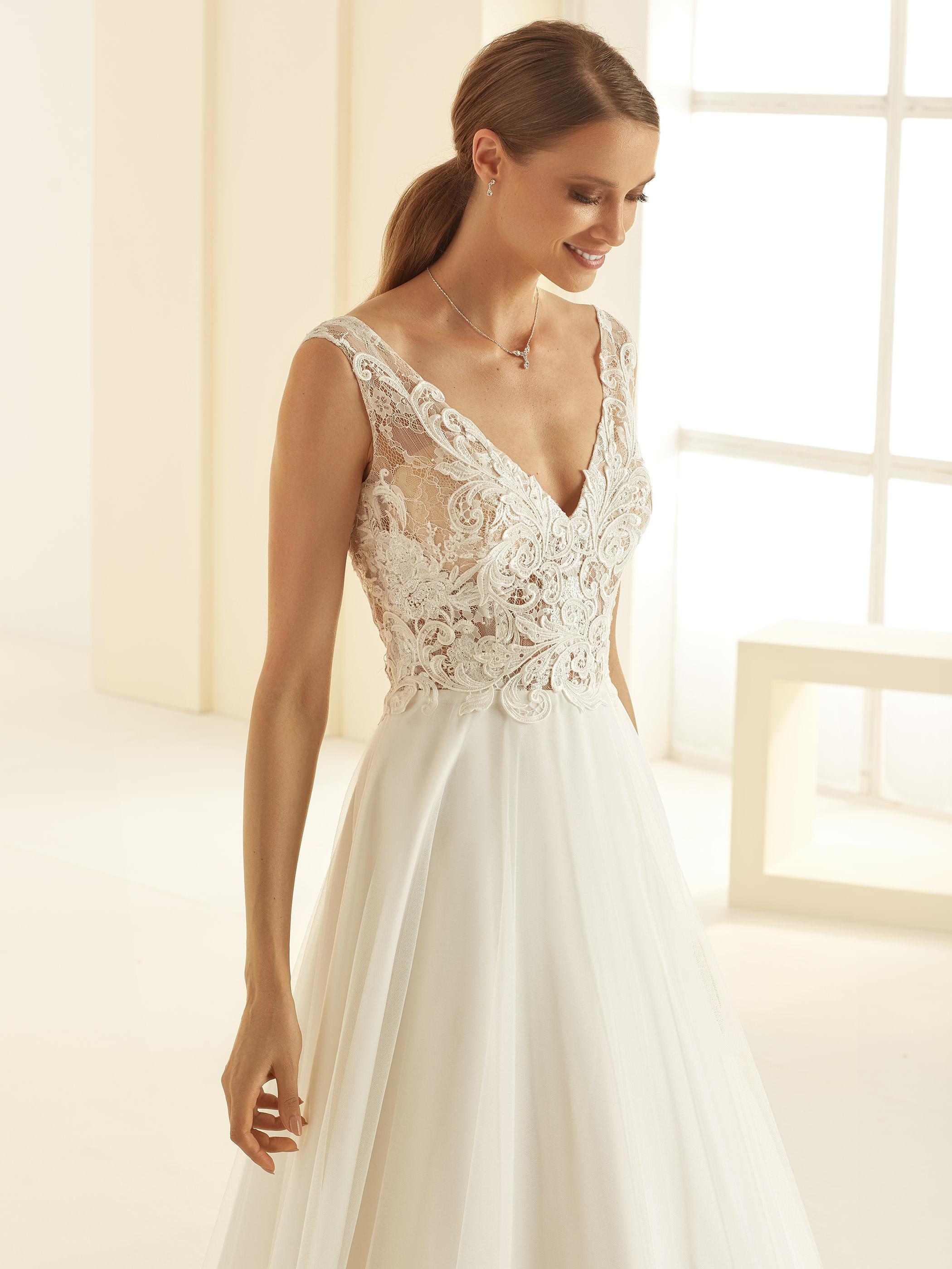Bianco Evento - Preciosa, Ivory/Nude: Plus Size 44
