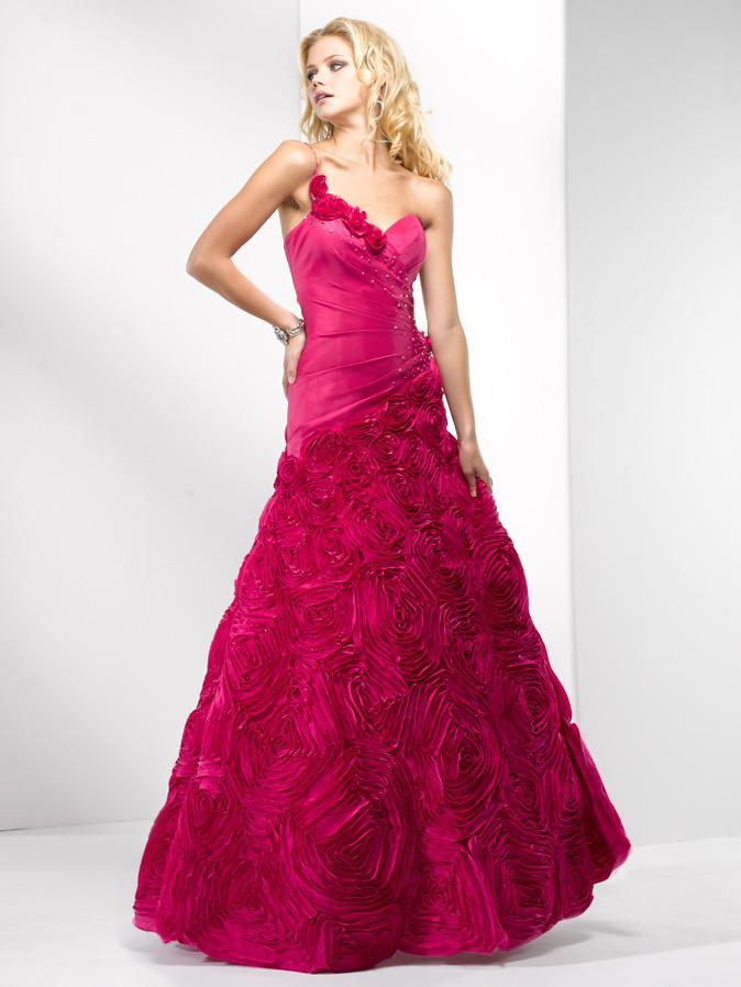 _Flirt Prom 5601, Hot Berry Pink