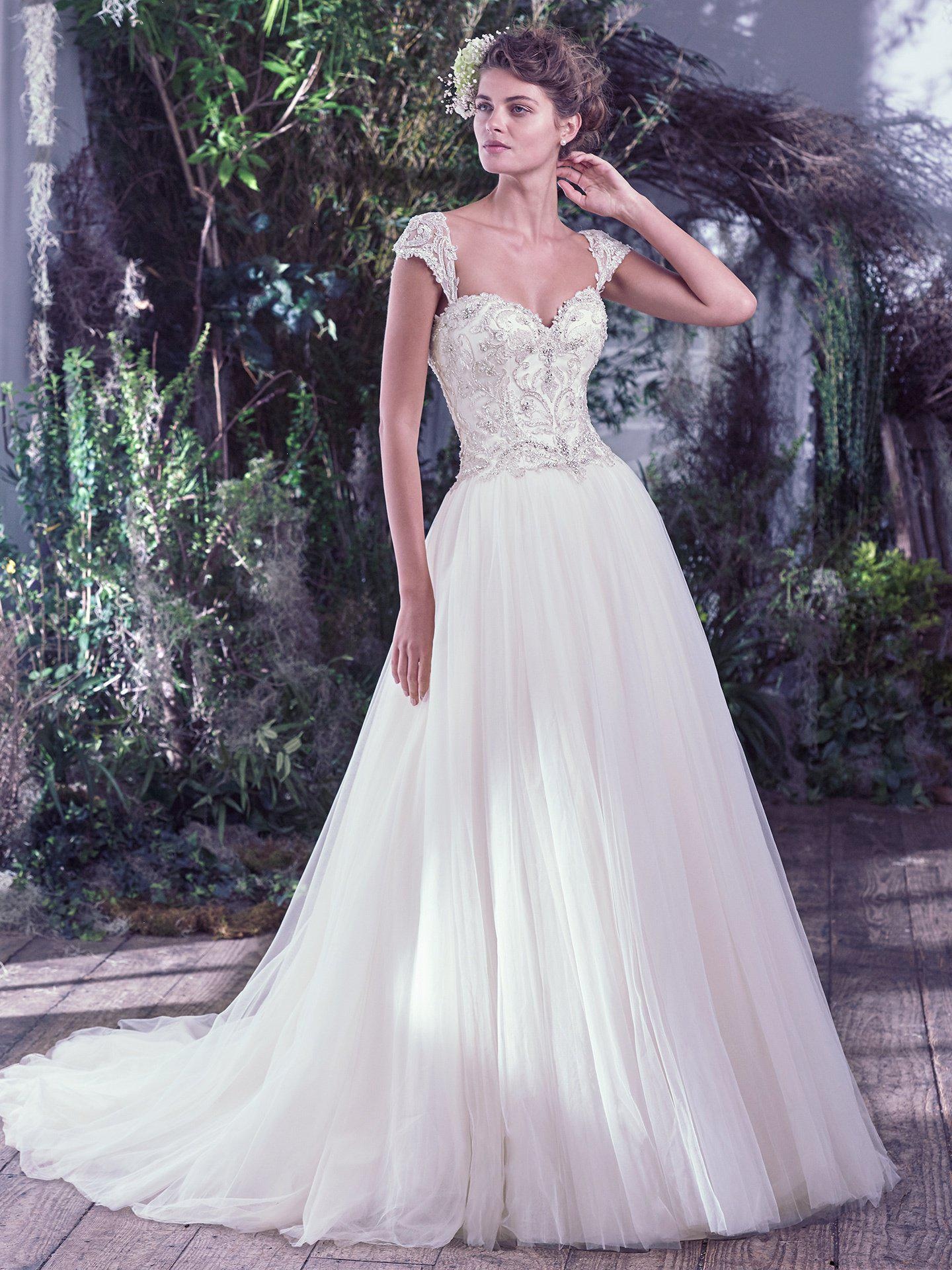 Maggie Sottero - BEVERLY, White: 36