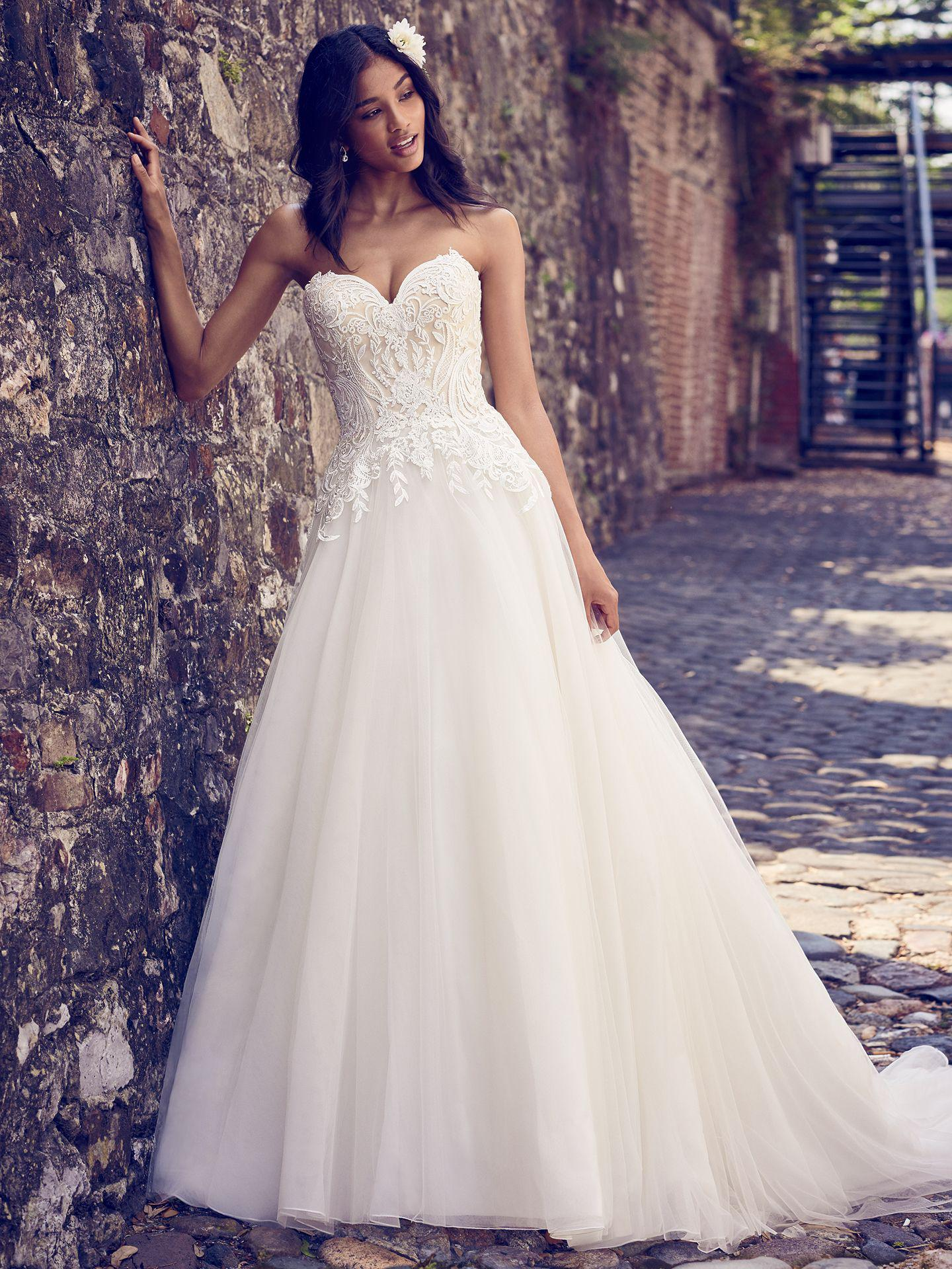 2020/19 Maggie Sottero - RAYNA, All Ivory:40/42