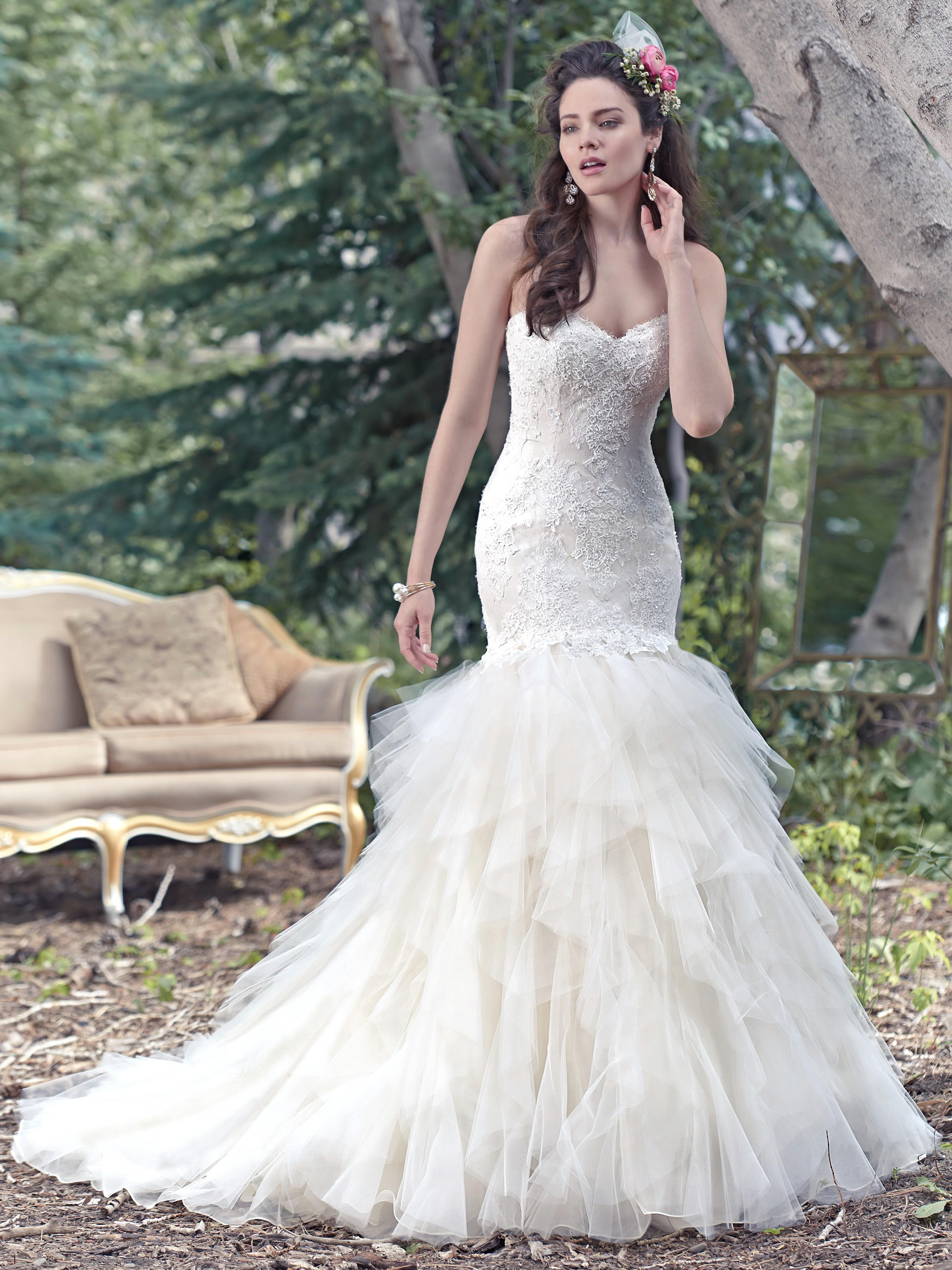 Maggie Sottero - STORM, Ivory: 36/38