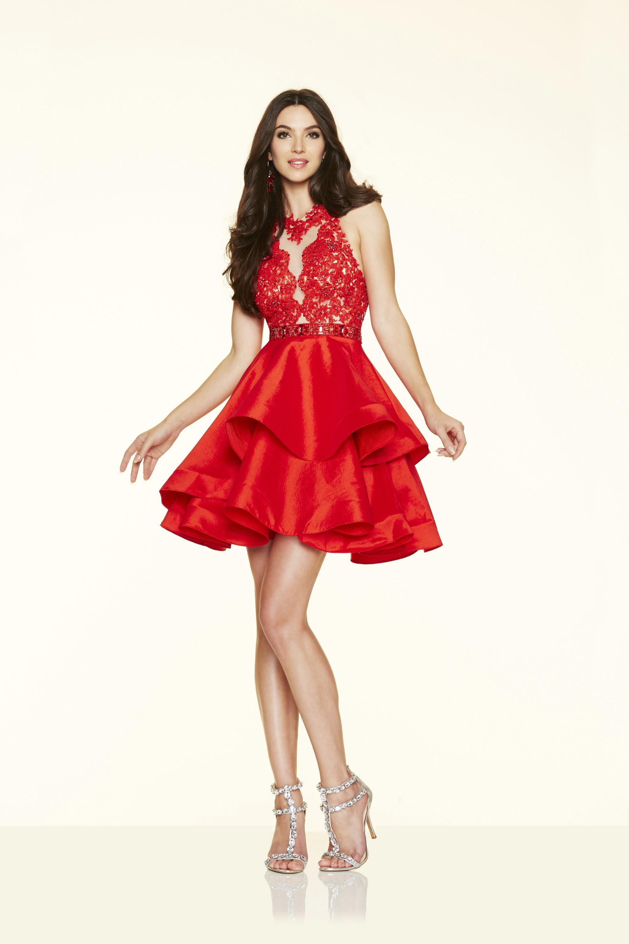 Morilee 9364, Red: 38/40
