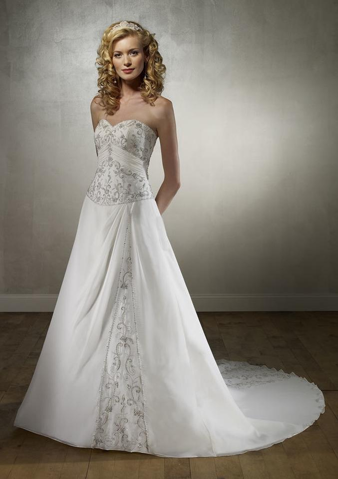 Mori Lee - 2135, White, Size:38