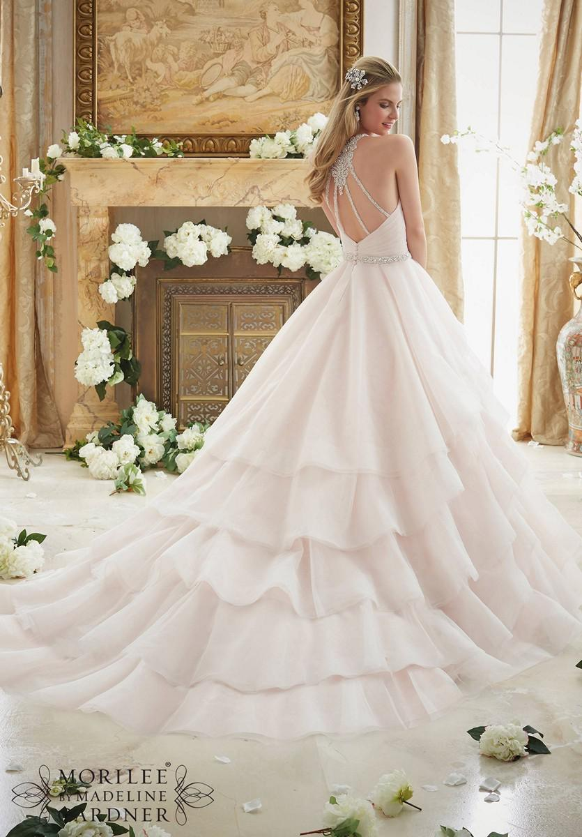 - Mori Lee - 2873, Wh.:36/38, Iv.:36/38, Blush:36/38