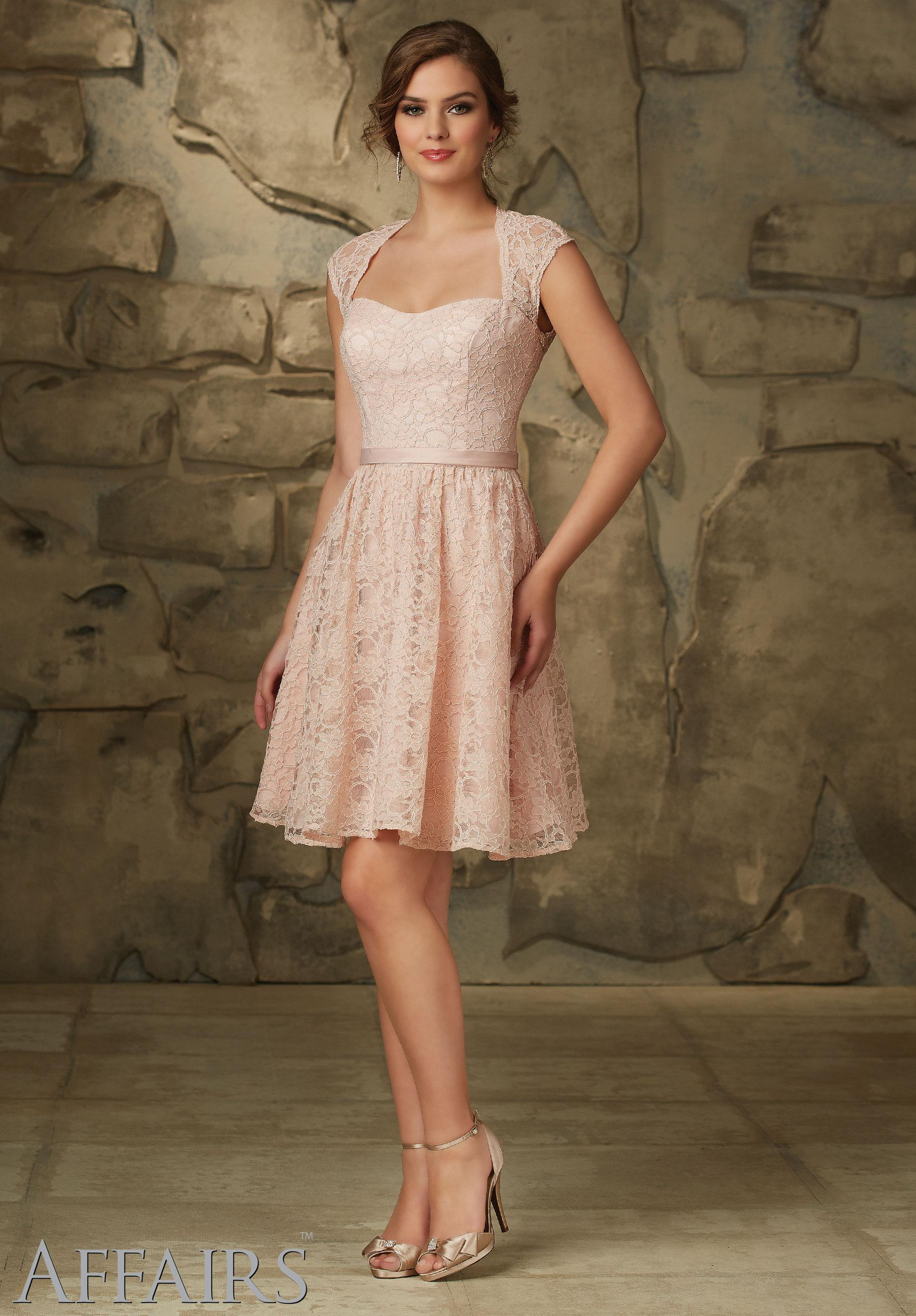 - Mori Lee 31065, Blush