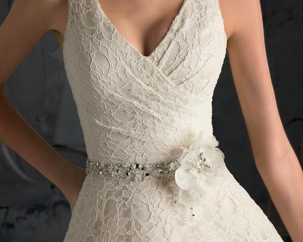 Mori Lee - Öv 11038, White, Ivory